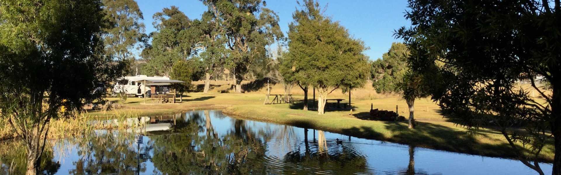 Kui Parks, Crows Nest Caravan Park
