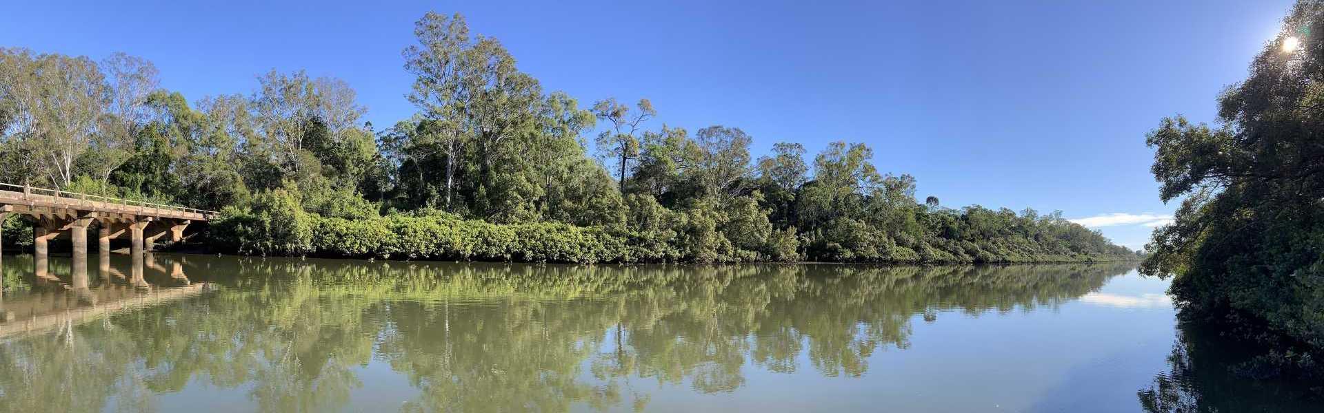 Burrum River Caravan Park Water 2