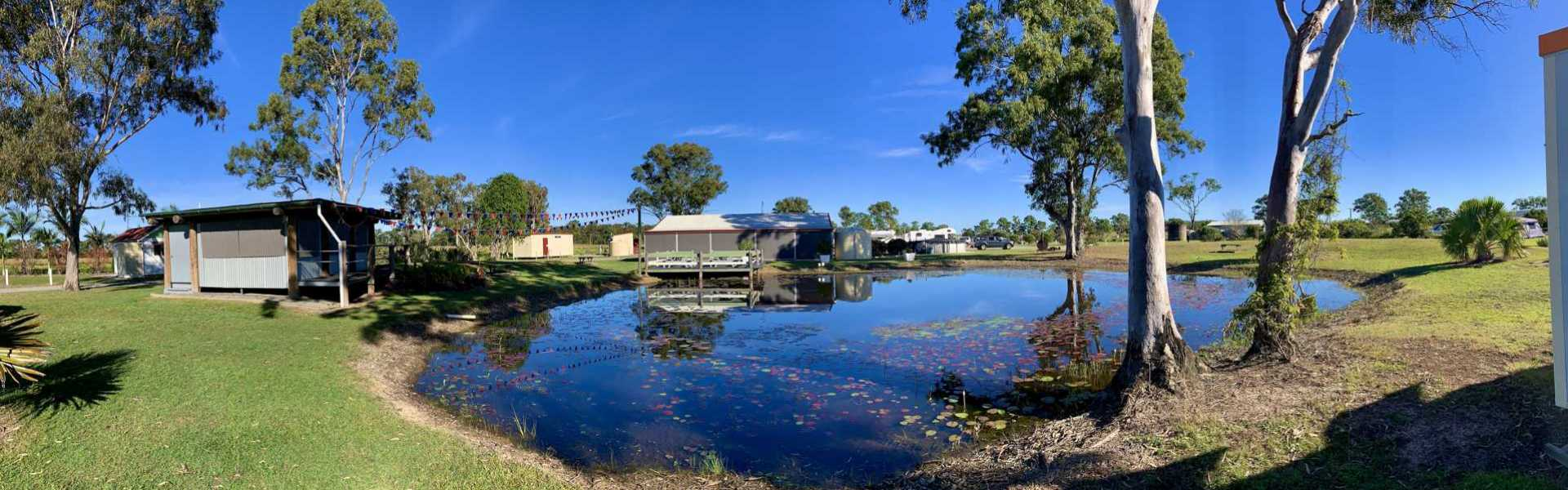 Cheery Nomad RV Park Farmstay Lake 1