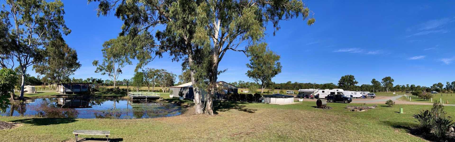Cheery Nomad RV Park Farmstay Lake 2