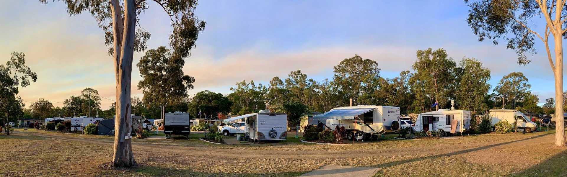 Burrum River Caravan Park Sky
