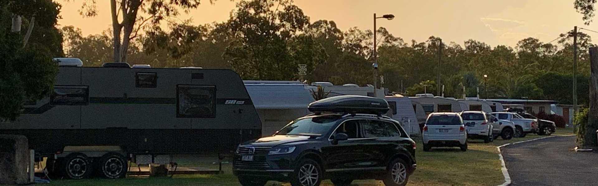 Burrum River Caravan Park Sunset Park