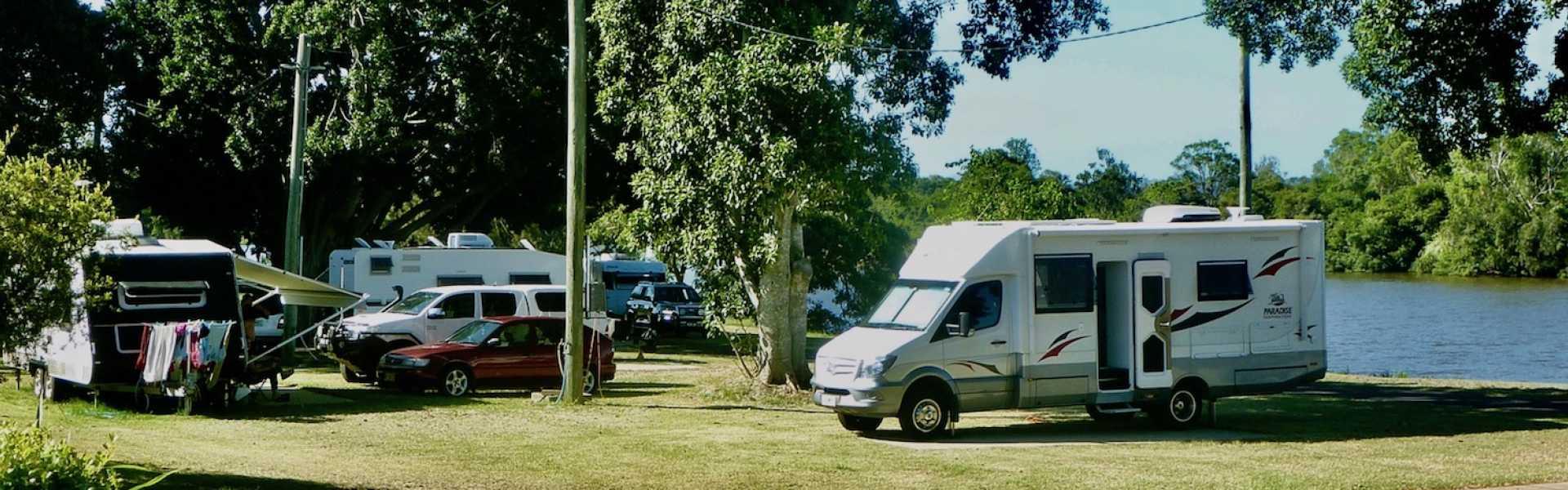 Kui Parks, Coraki Riverside Caravan Park, Caravan Park