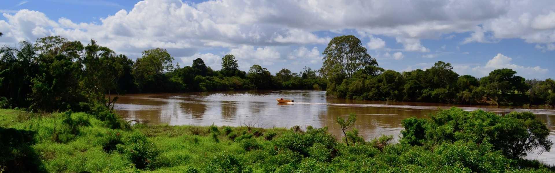 Kui Parks, Coraki Riverside Caravan Park, River