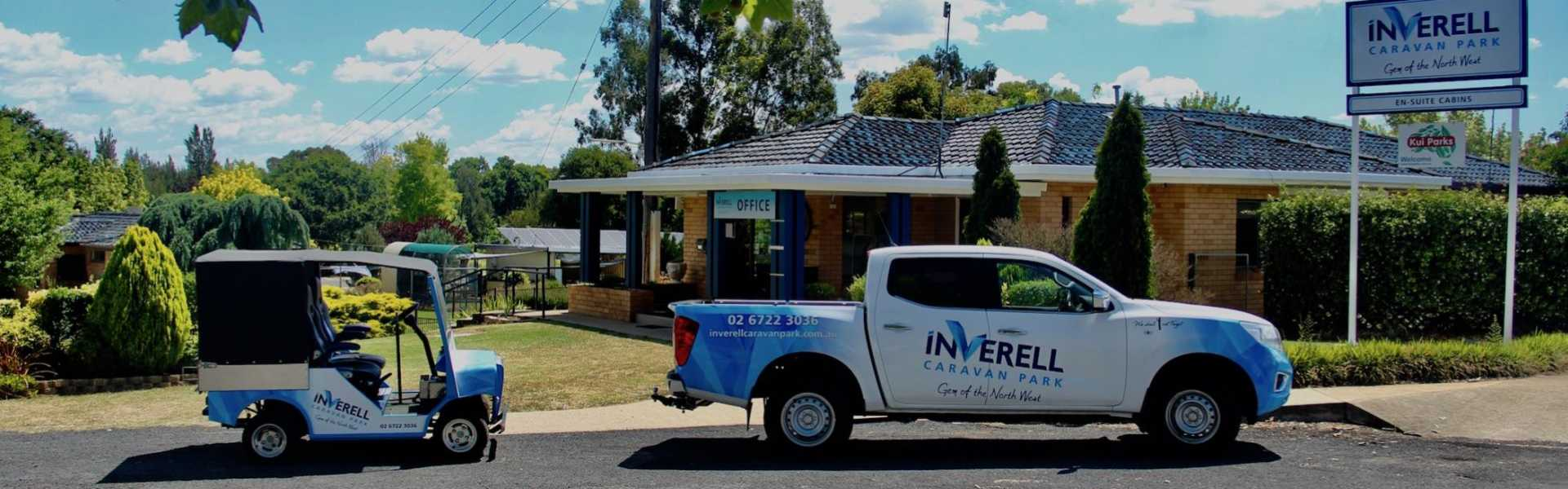 Kui Parks, Inverell Caravan Park Office