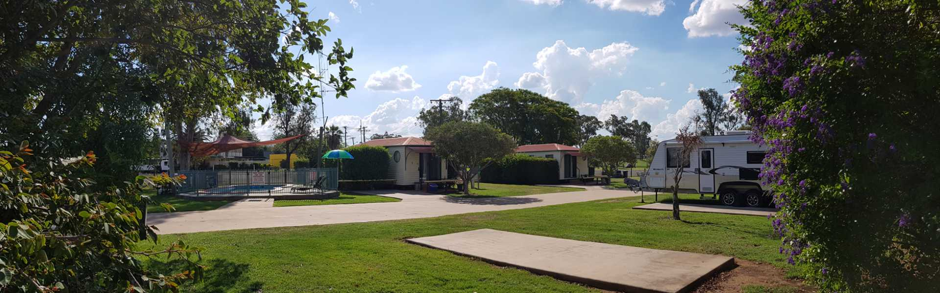 Kui Parks, Mundubbera, Three Rivers Tourist Park, Powered Sites