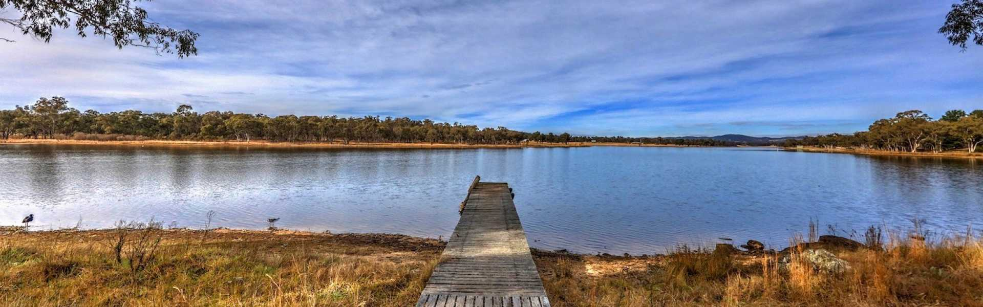 Kui Parks, Sommerville Valley Tourist Park, Stanthorpe, Dam