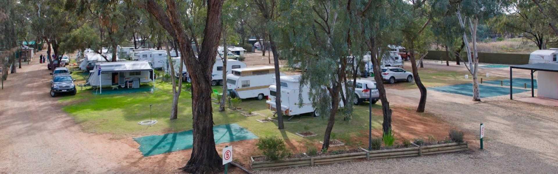Kui Parks, Kingston on Murray Caravan Park, Sites