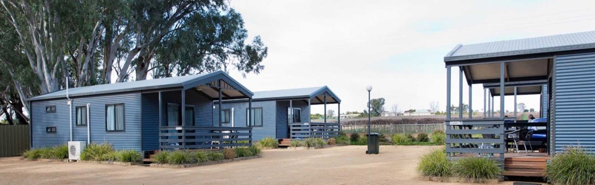 Kui Parks, Kingston on Murray Caravan Park, Cabins