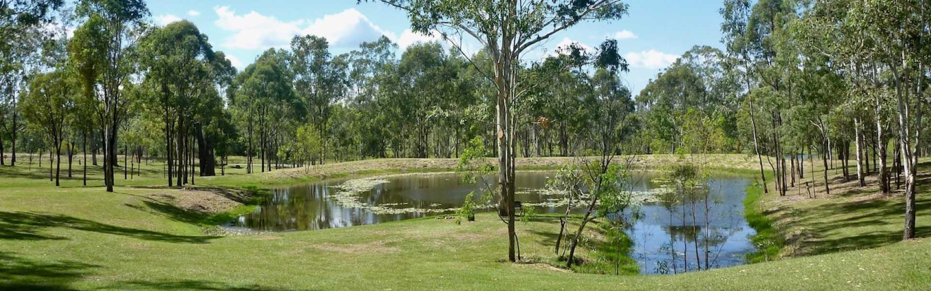 Kui Parks, Barambah Bush Caravan and Camping Park, Murgon, Dam