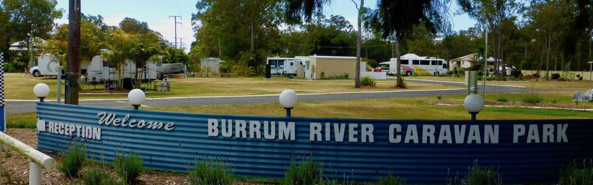 Burrum River Caravan Park, Howard, Kui Parks, Entrance