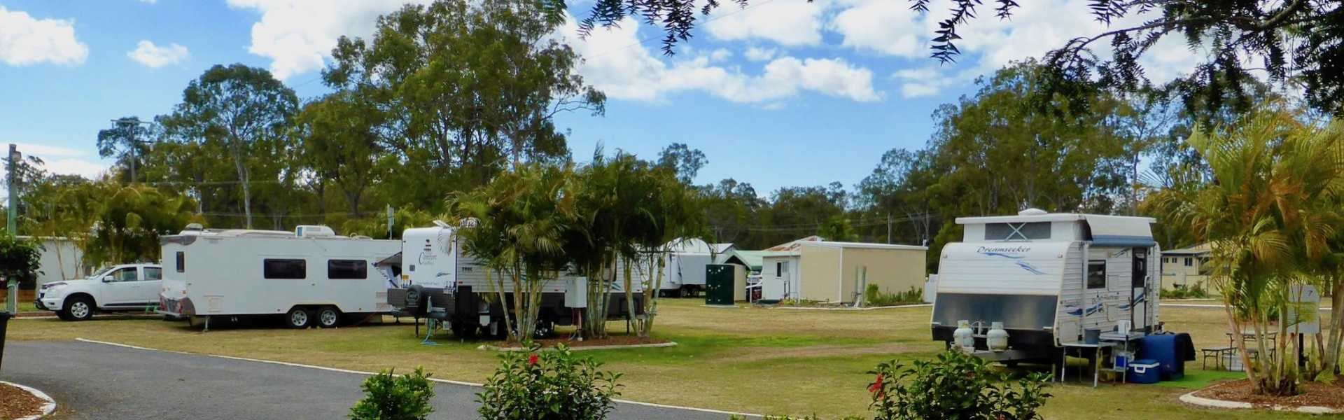 Burrum River Caravan Park, Howard, Kui Parks, Sites