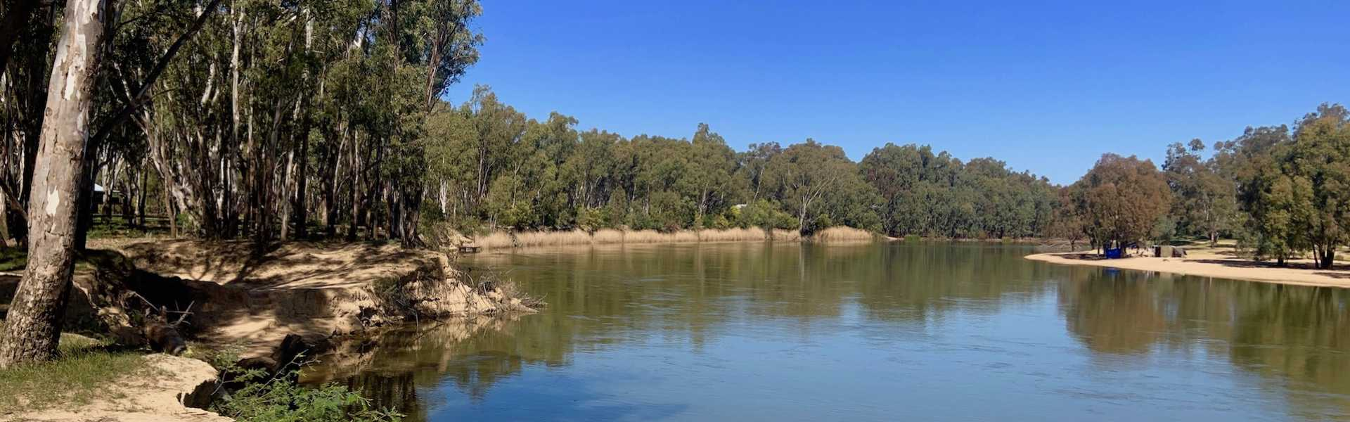Kui Parks, Bushland on the Murray Holiday Park, Murray River