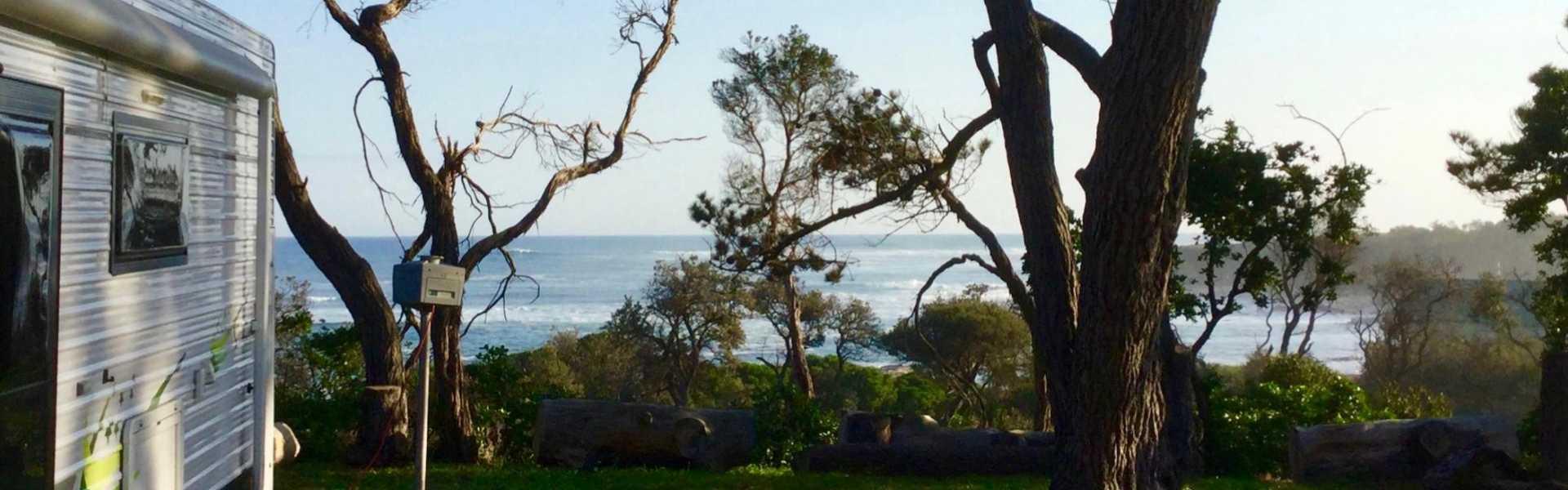 Kui Parks, Cape Paterson Caravan Park, View