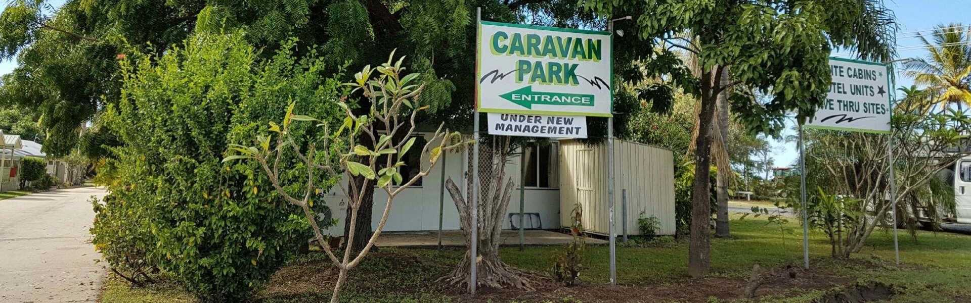 Kui Parks, Carmila Caravan Park and Cabins, Entrance