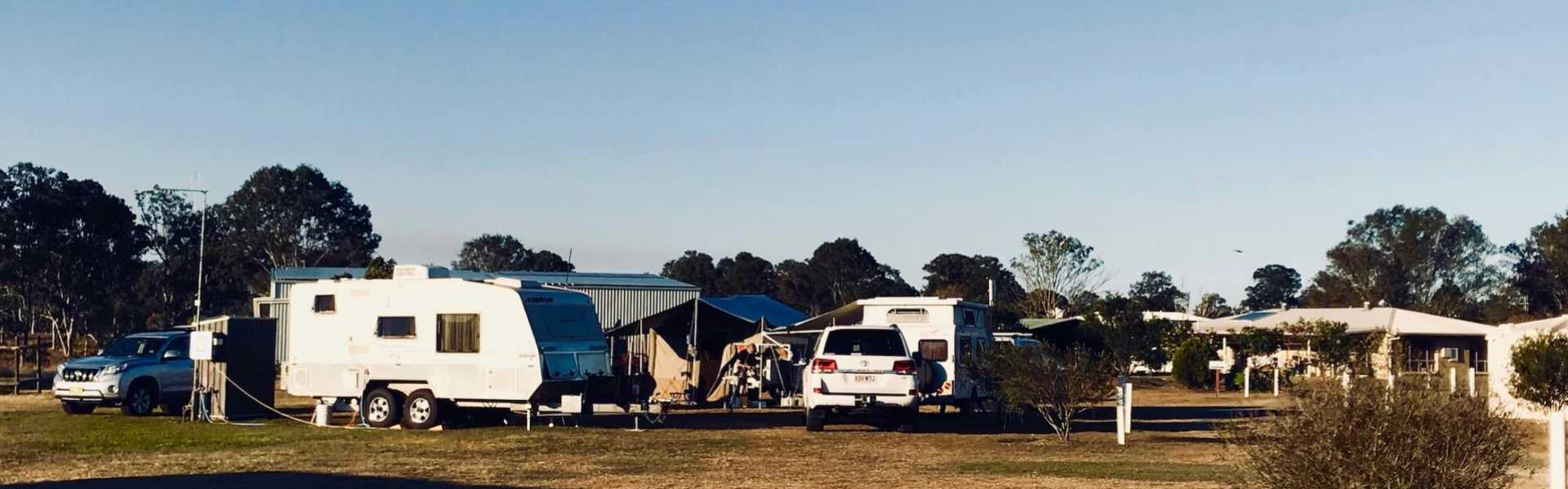 Kui Parks, Cheery Nomad RV Park & Farmstay, Maryborough, Sites