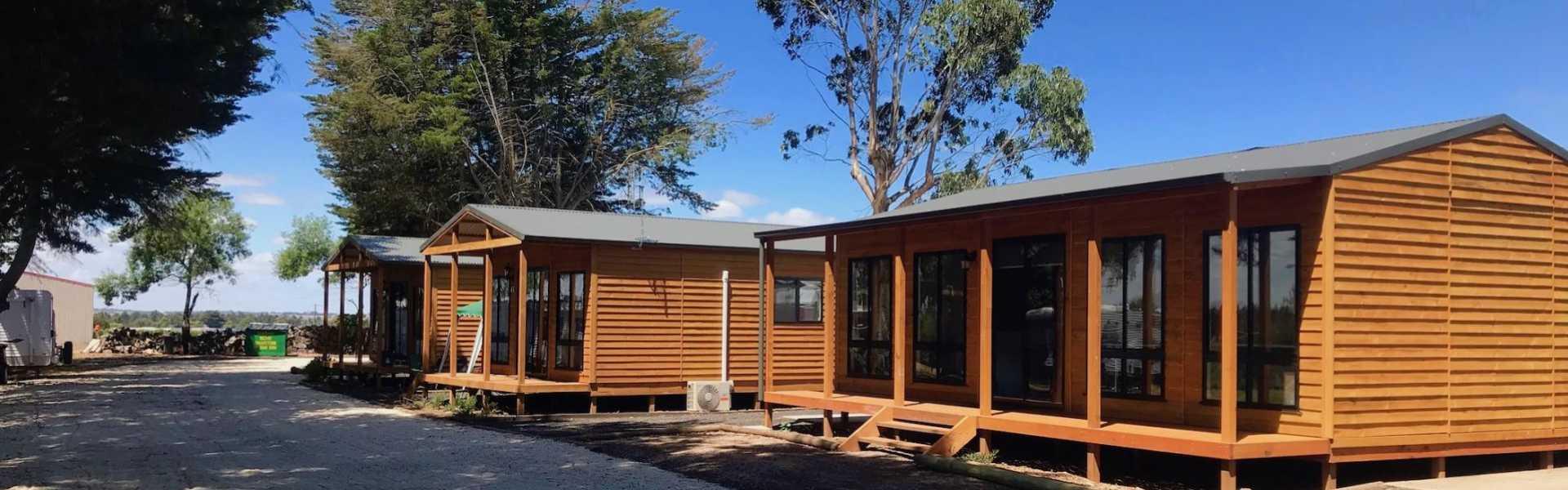 Kui Parks, Colac Otway Caravan & Cabin Park, Cabins
