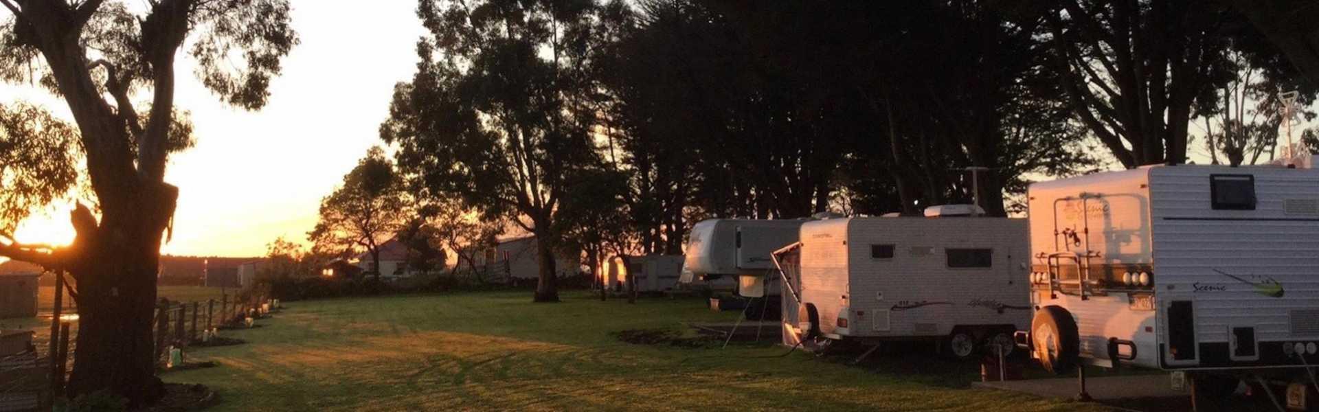 Kui Parks, Colac Otway Caravan & Cabin Park, Sites