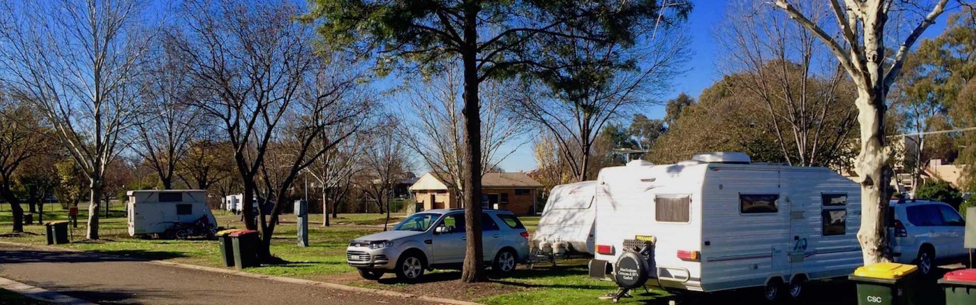 Kui Parks, Cootamundra Caravan Park, Sites