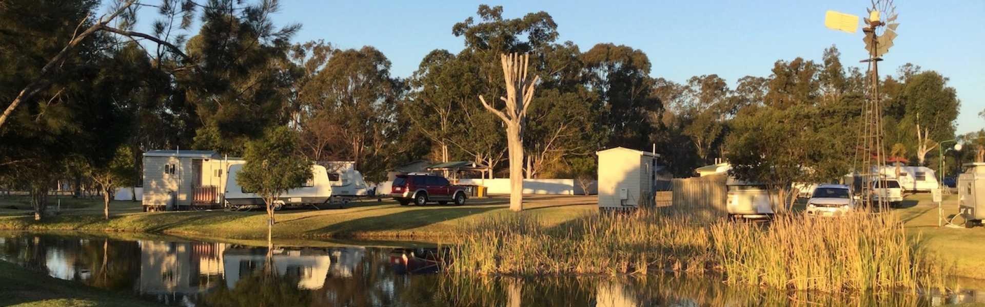 Kui Parks, Crows Nest Caravan Park, Sites