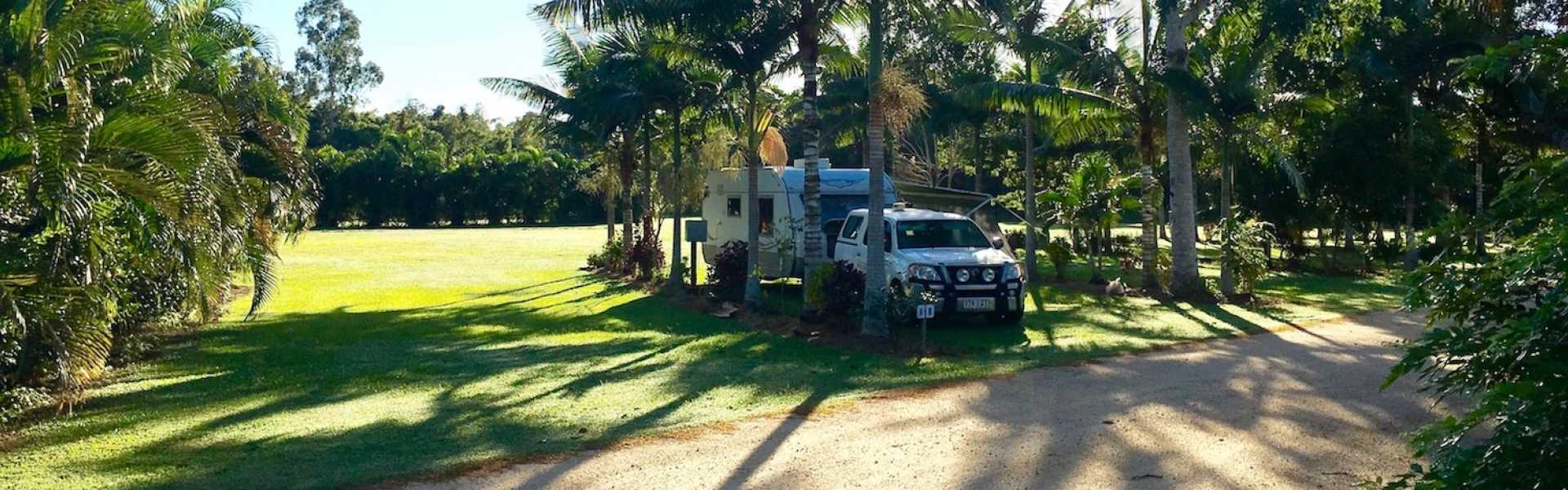 Kui Parks, Crystal Creek Caravan Park, Mutarnee, Sites