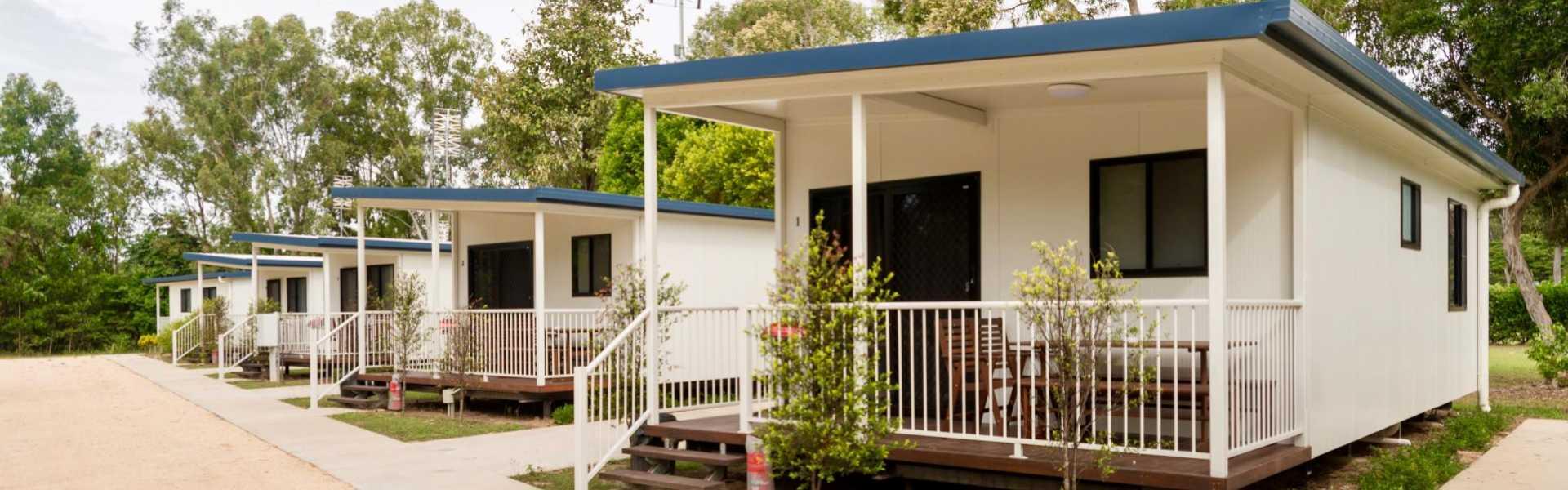 Kui Parks, Crystal Creek Caravan Park, Mutarnee, Cabins