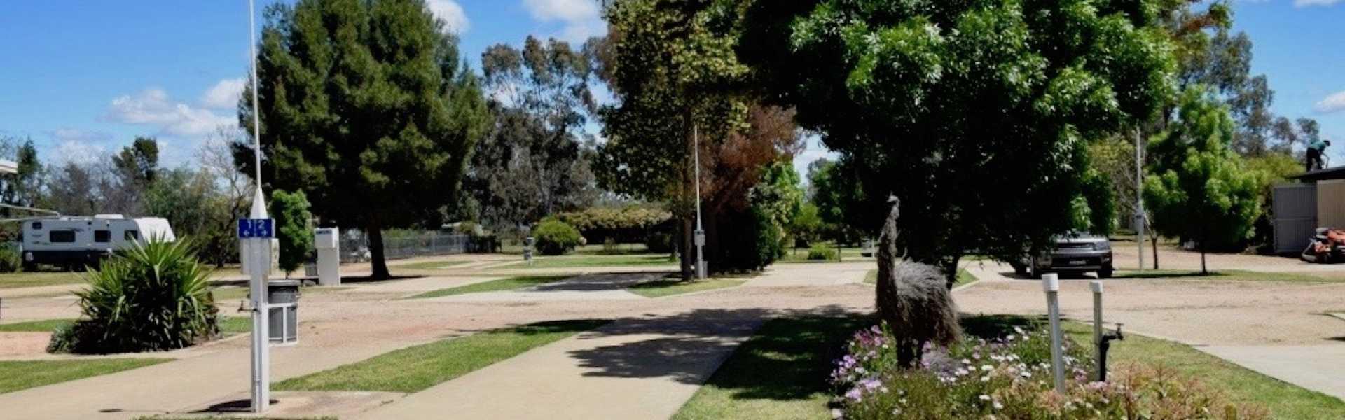Kui Parks, Double D Caravan Park, Peak Hill, Sites