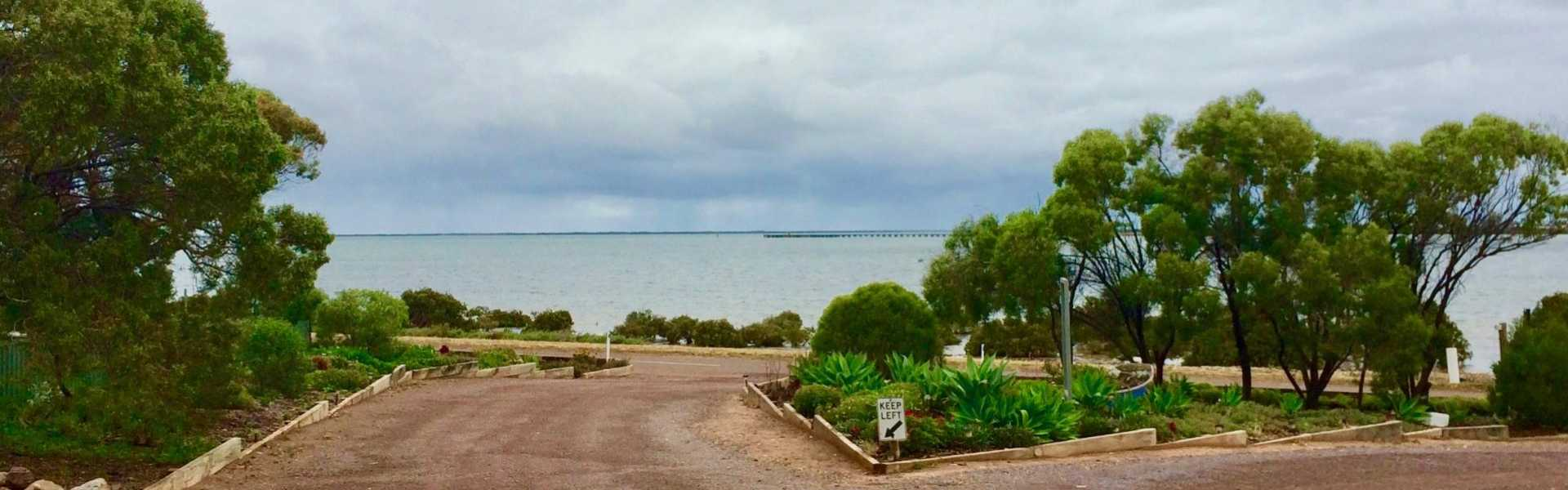 Kui Parks, Harbour View Caravan Park, Bay