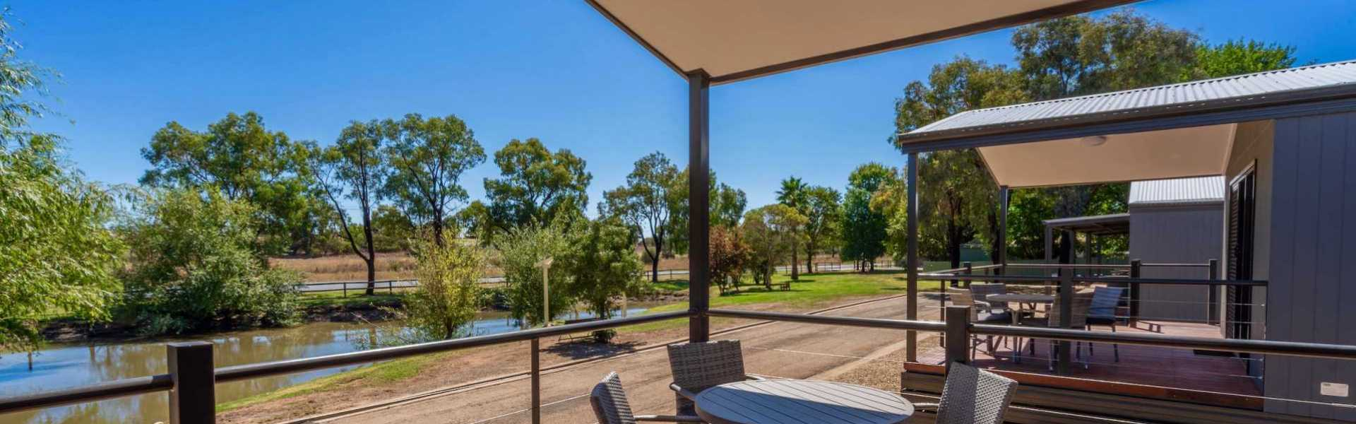 Kui Parks, Horseshoe Tourist Park, Wagga Wagga, Dam