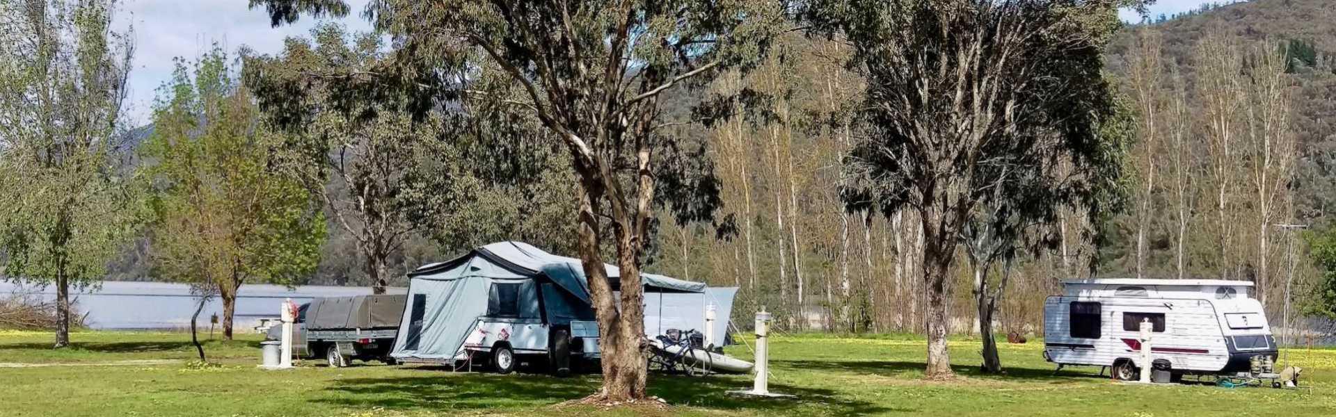 Kui Parks, Khancoban Lakeside Caravan Park, Sites
