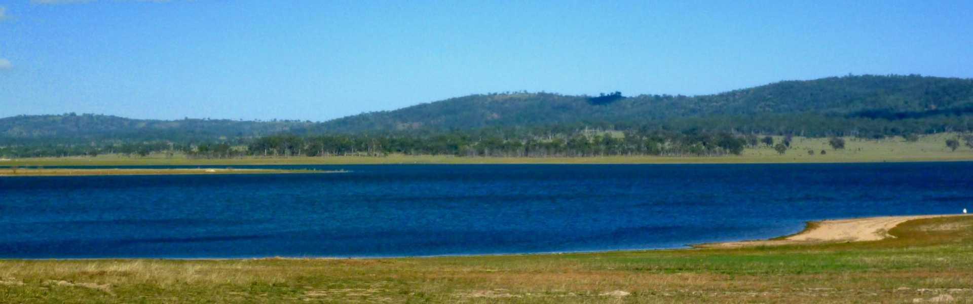 Kui Parks, Lake Leslie Tourist Park, Leslie Dam