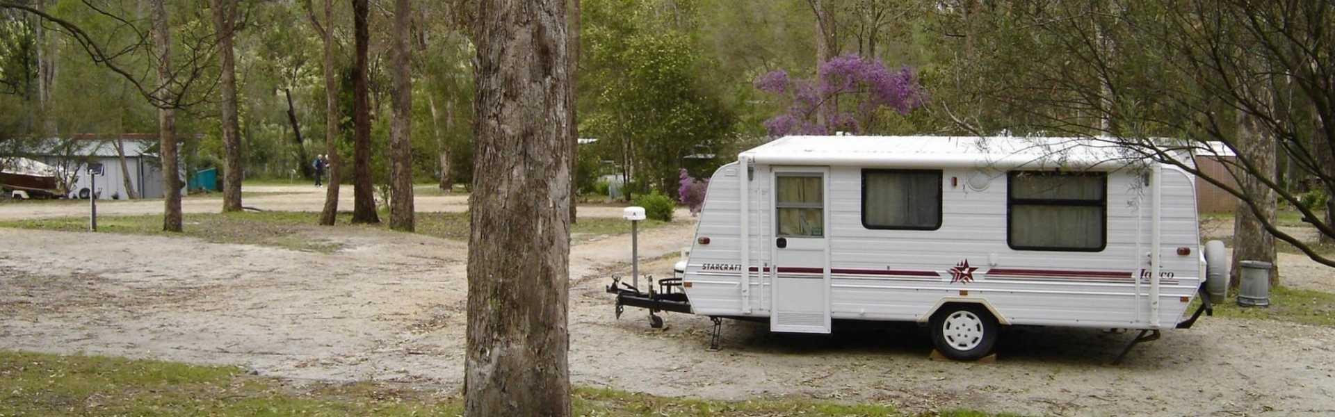 Kui Parks, Nicholson, Bushland Cabin & Caravan Park, Site