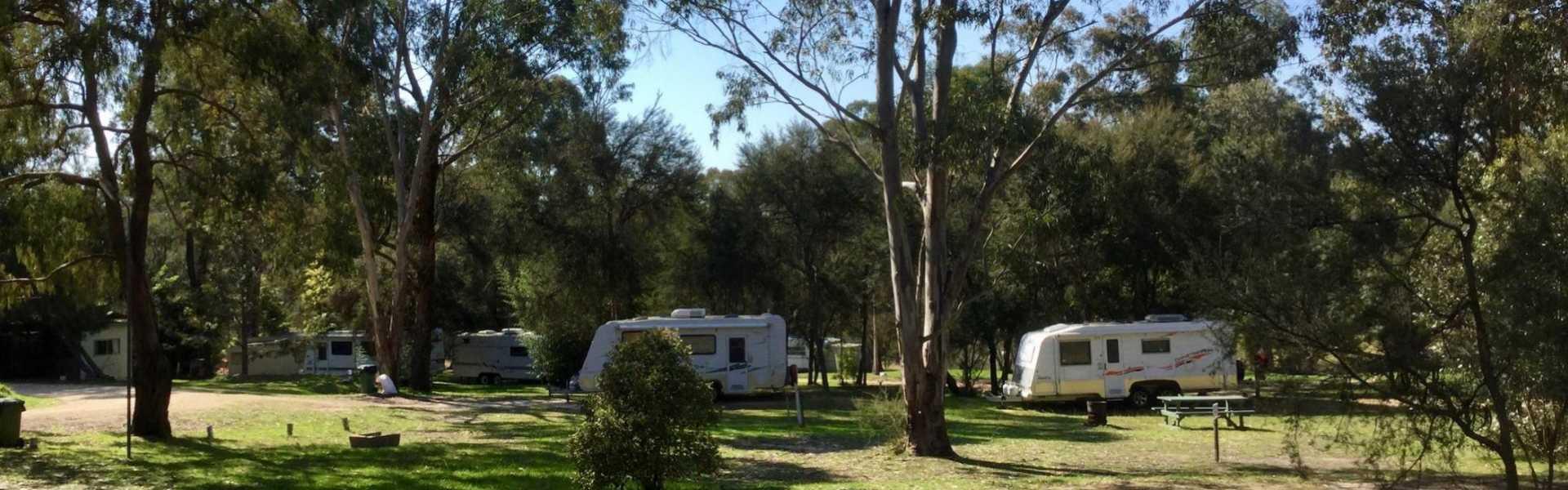 Kui Parks, Nicholson, Bushland Cabin & Caravan Park, Sites