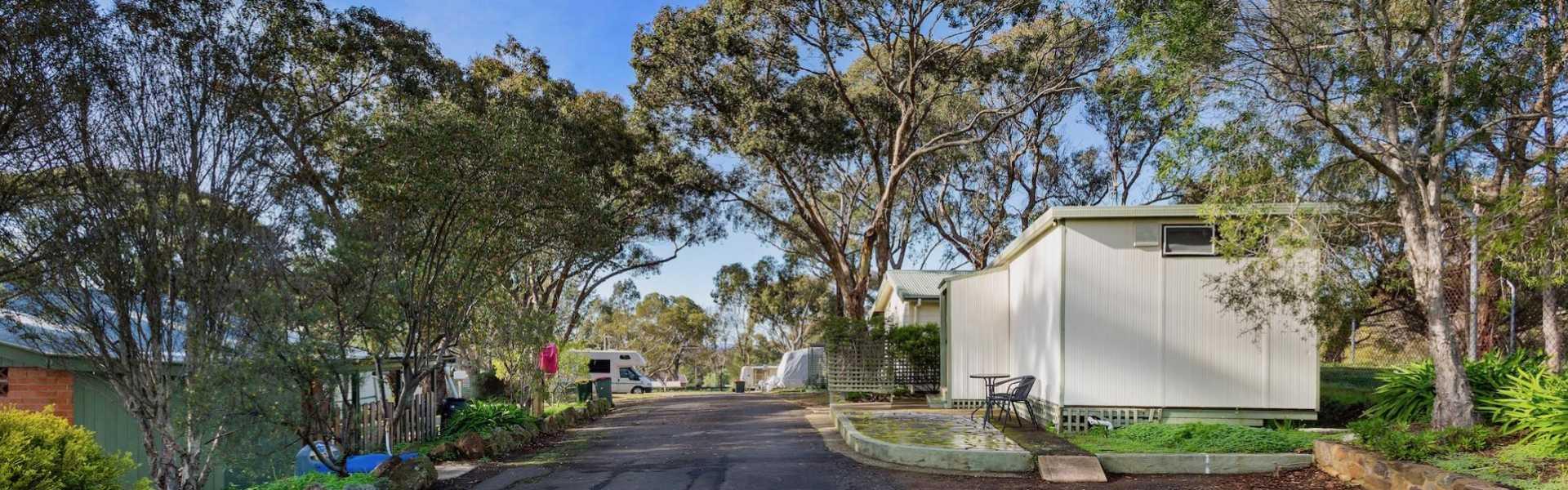 Kui Parks, Maldon Caravan Park