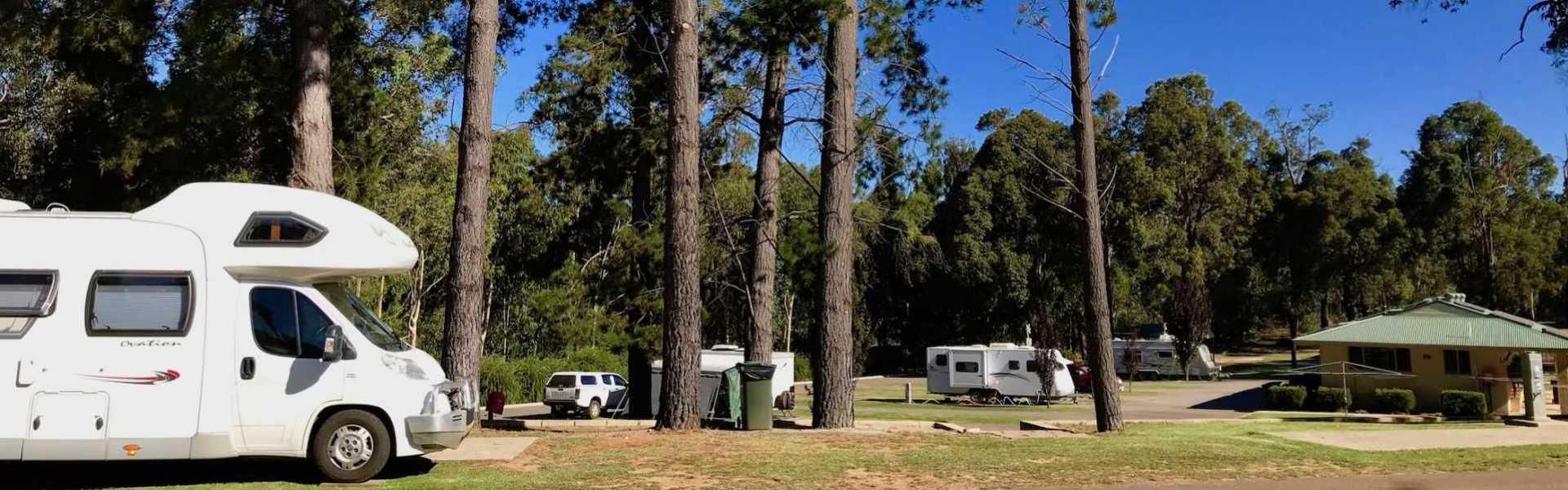 Kui Parks, Manjimup Central Caravan Park, Park