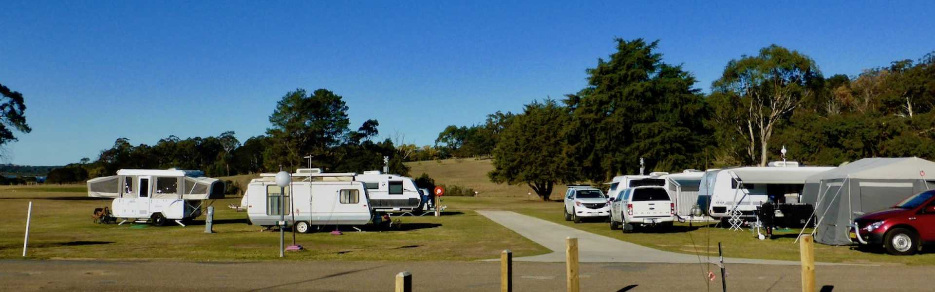 Kui Parks, Merimbula Lake Holiday Park, Pambula, Sites