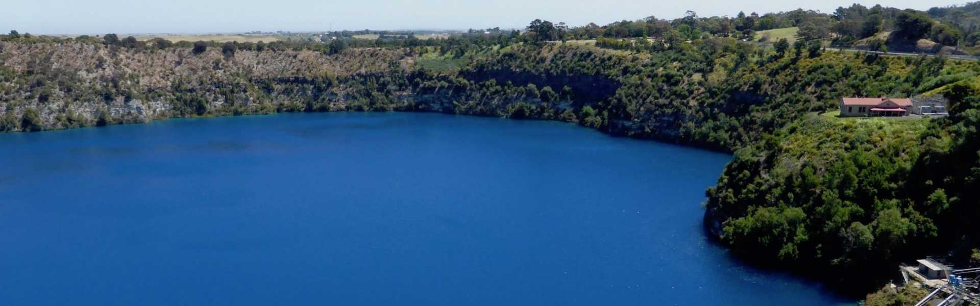Kui Parks, Mount Gambier Central Caravan Park, Blue Lake