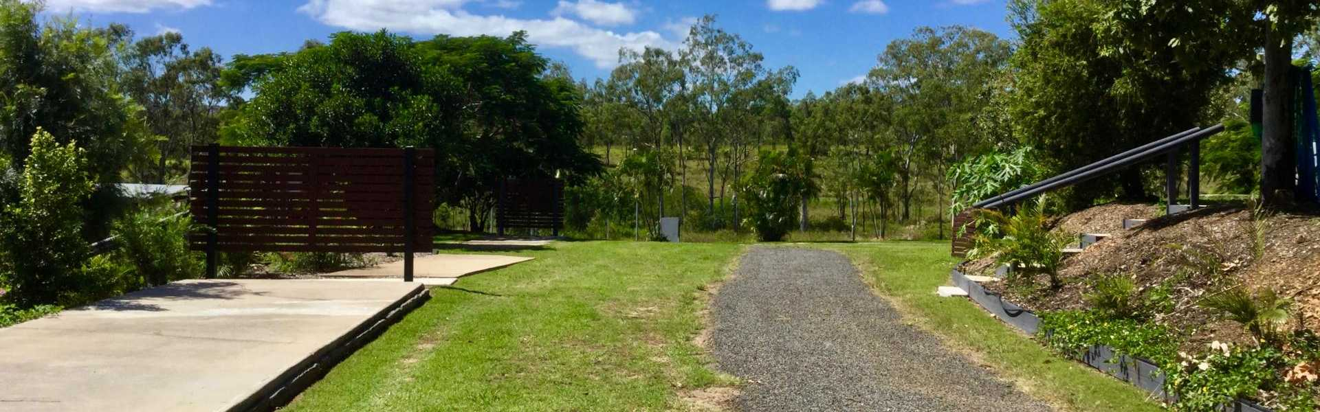 Kui Parks, Mount Larcom Tourist Park, Sites