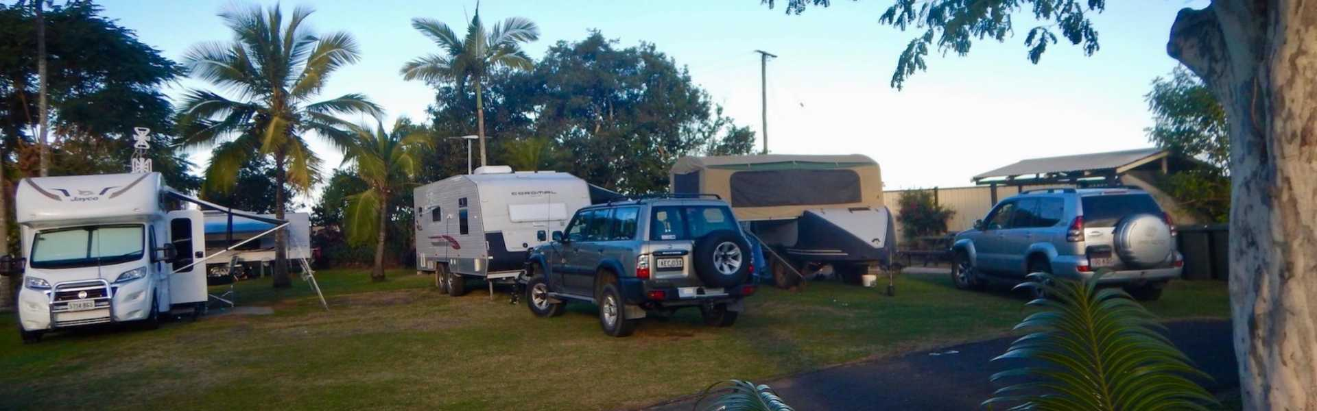 Kui Parks, Bundaberg, Oakwood Caravan Park, Sites