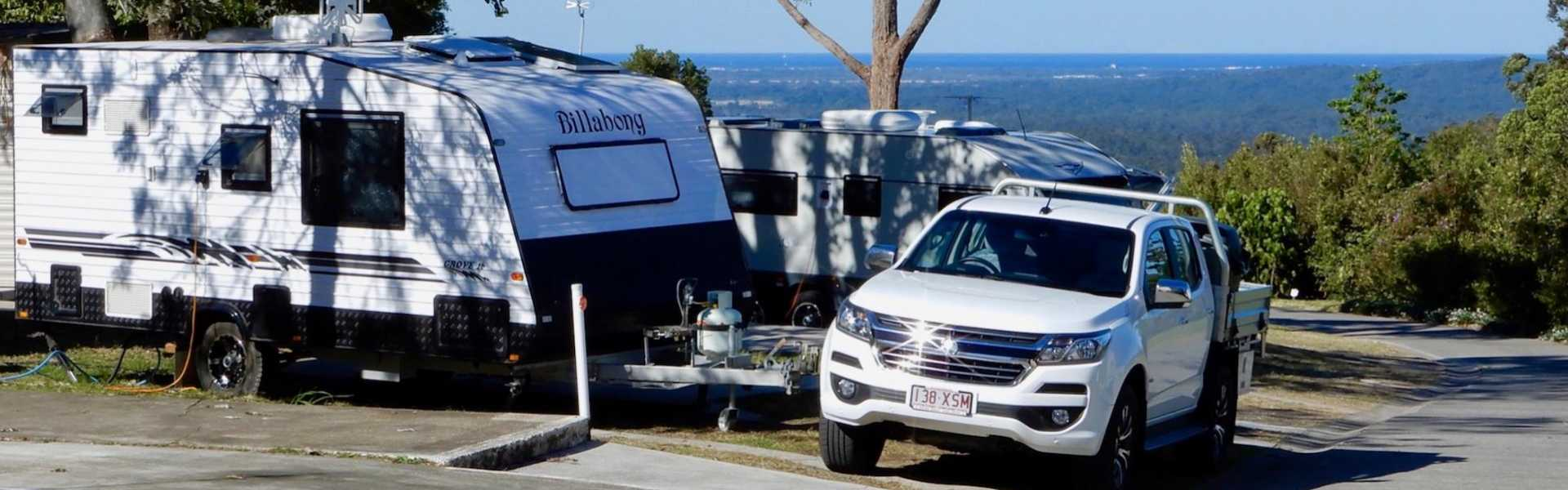 Kui Parks, Ocean View Caravan and Tourist Park, Landsborough, Sites