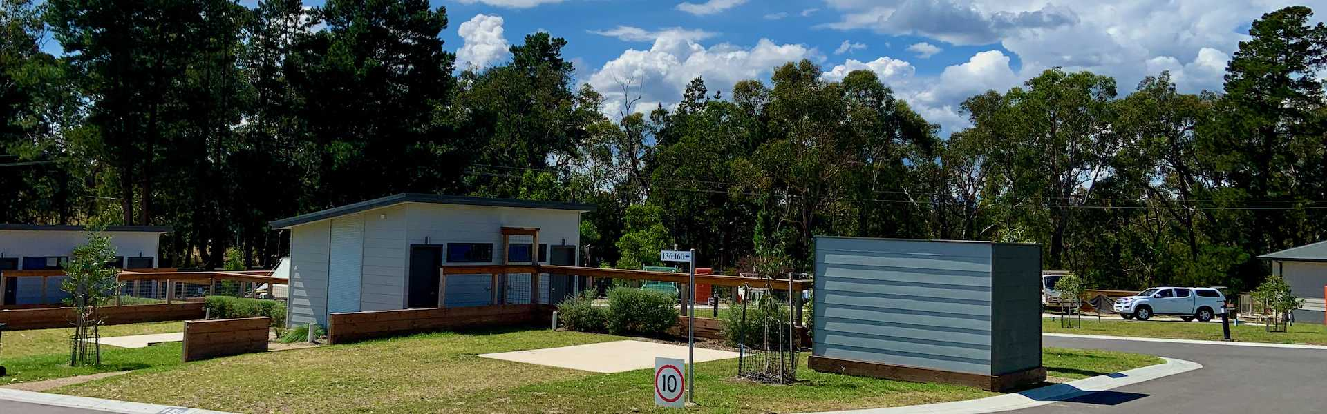 Kui Parks, Lilydale Pine Hill Caravan Park, En-suite sites