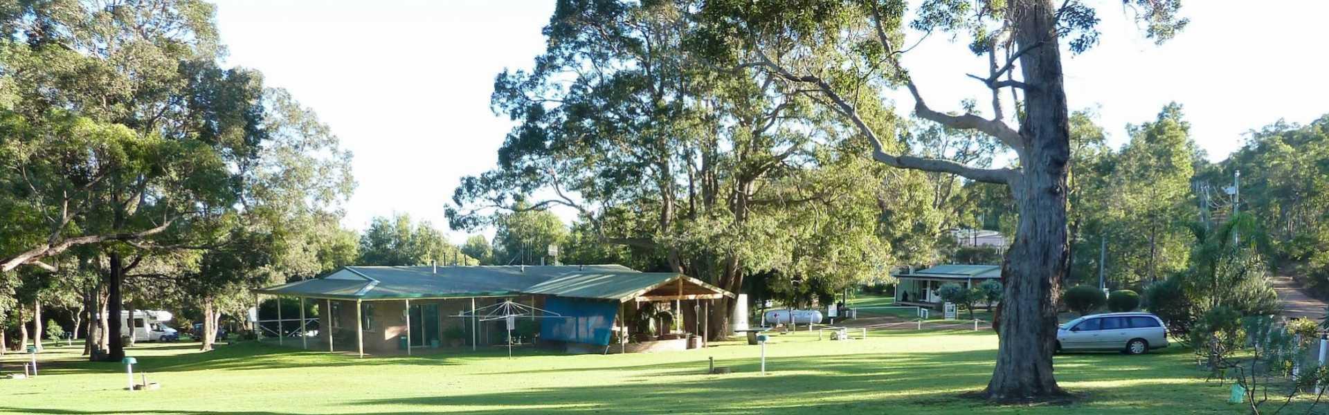 Kui Parks, Porongurup Range Tourist Park, Sites