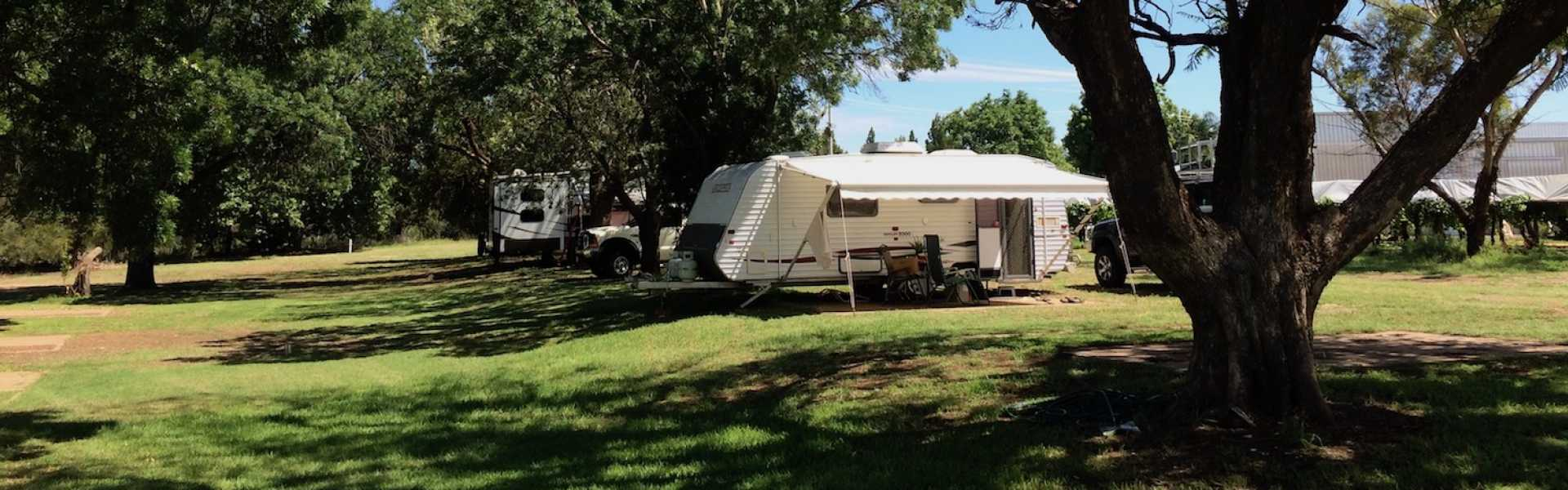 Kui Parks, Red Cliffs Caravan Park, Mildura, Sites