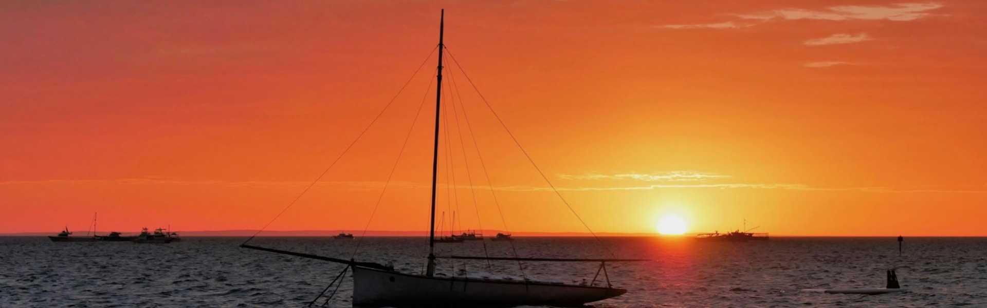 Kui Parks, Shark Bay Caravan Park, Denham, Sunset