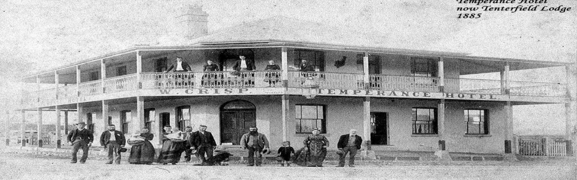Kui Parks, Tenterfield Lodge Caravan Park, Lodge in 1885