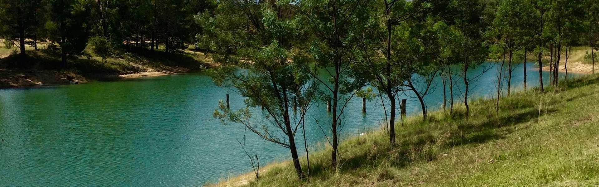 Kui Parks, Tingha Gems Caravan Park, Tingha, Dam