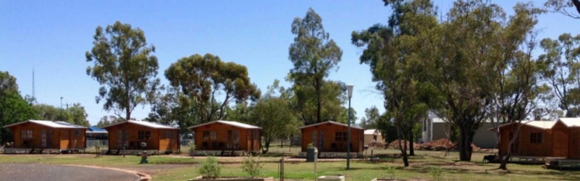 Kui Parks, Trangie Caravan Park, Cabins