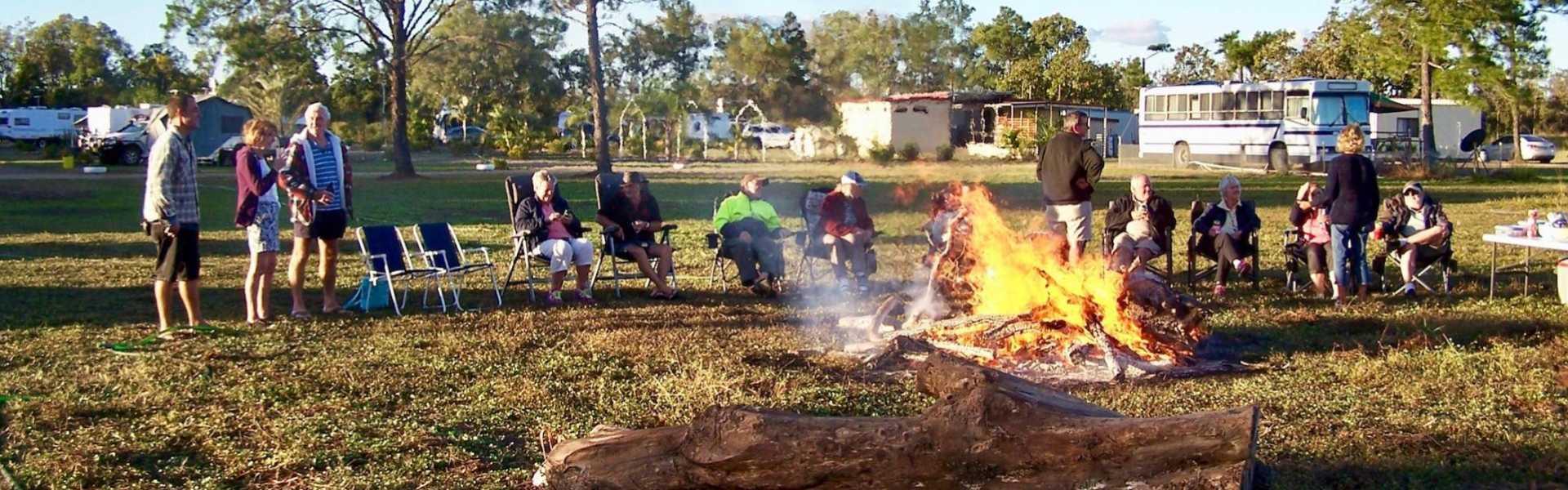 Kui Parks, Trinity Plains Tourist Park, Mareeba, Happy Hour