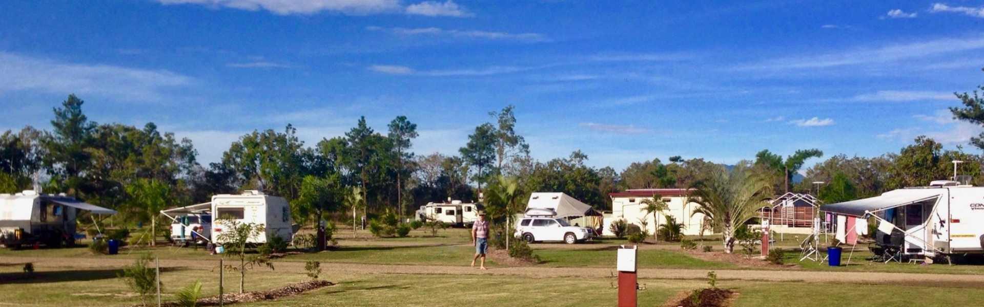 Kui Parks, Trinity Plains Tourist Park, Mareeba, Sites