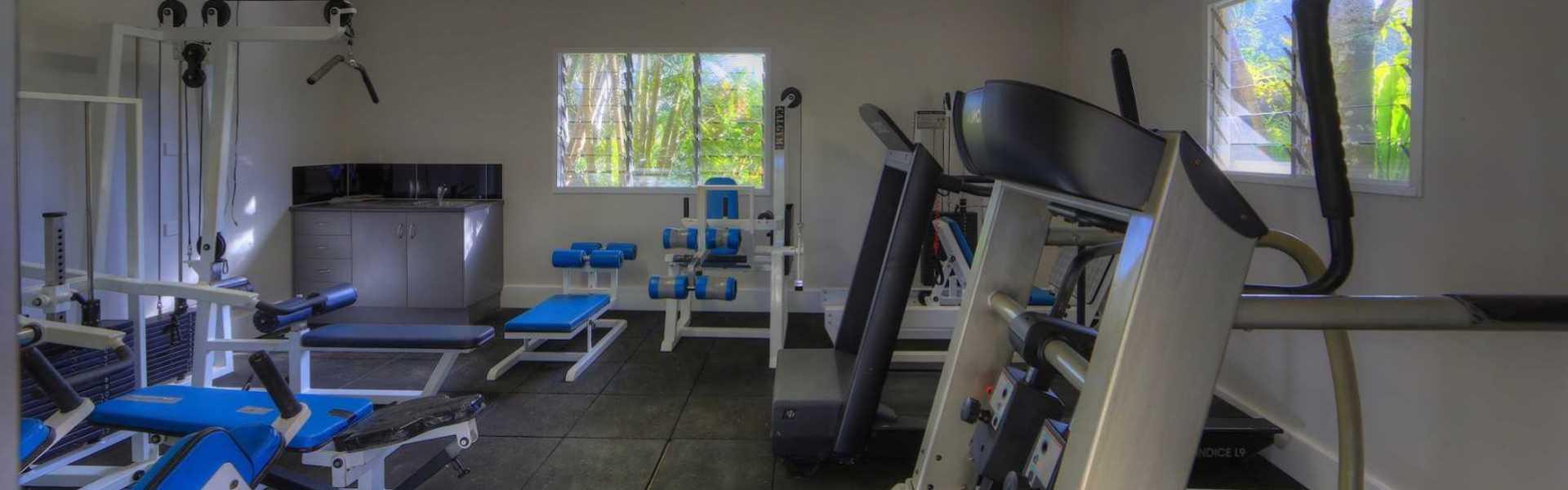 Kui Parks, Tropical Hibiscus Caravan Park, Mission Beach, Gym